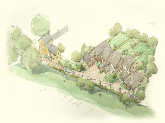 Orchard Gardens Artists Impression