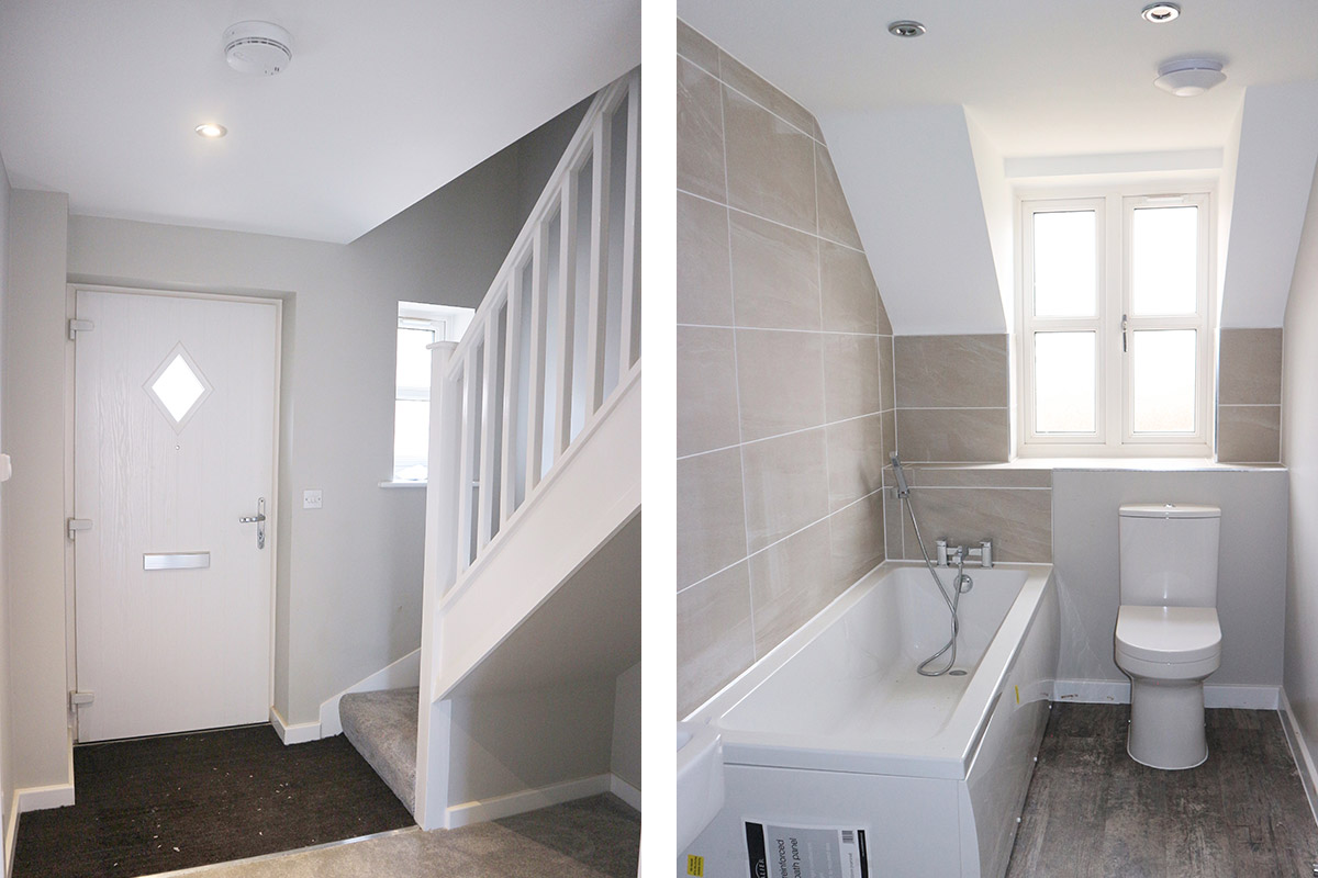 The Pembroke at Mill Fields, South Kilworth (Plot 11) Hall & Bathroom
