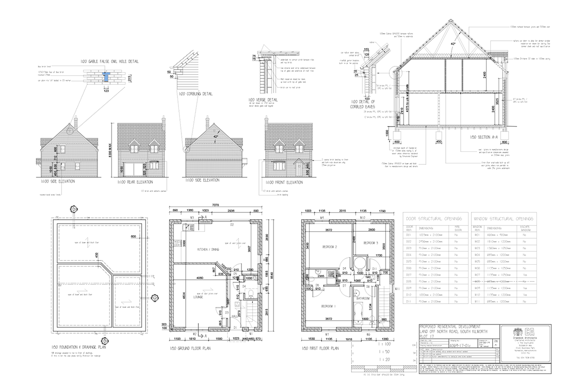 Mill Fields South Kilworth Plot 17 The Shrewsbury Plans
