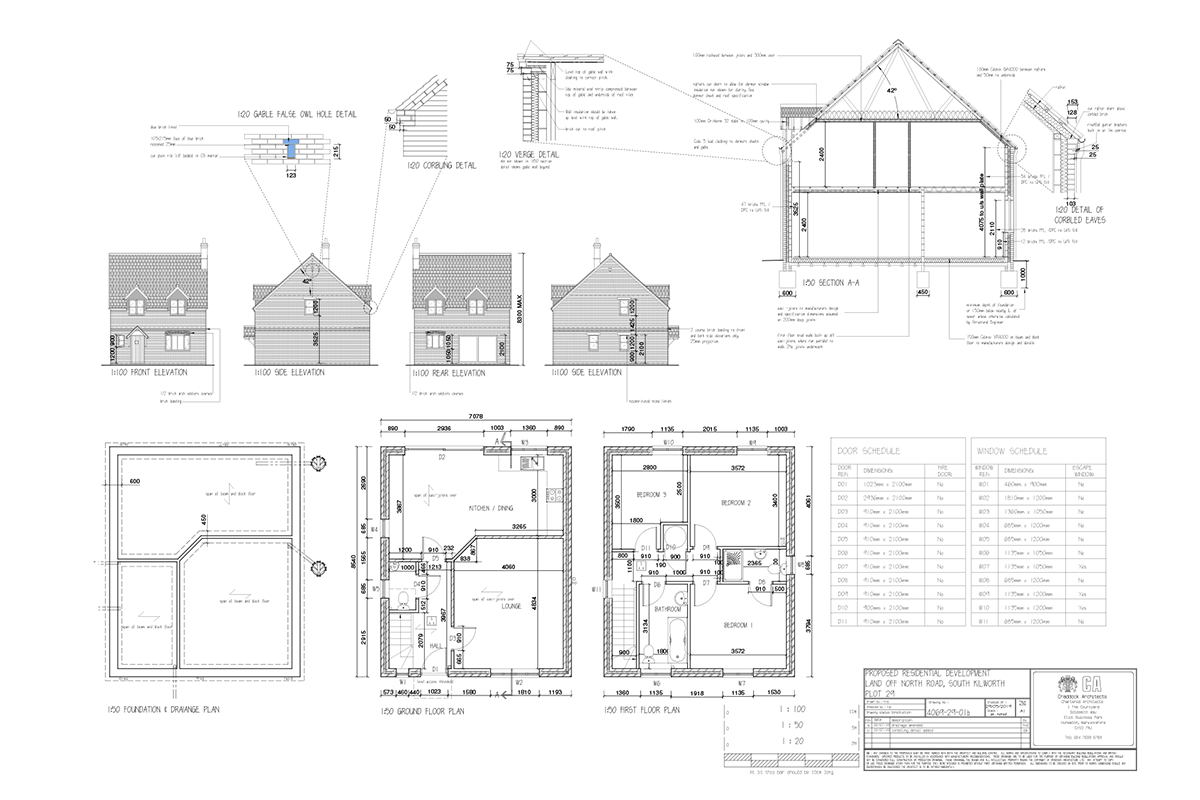 Mill Fields South Kilworth Plot 29 The Shrewsbury Plans